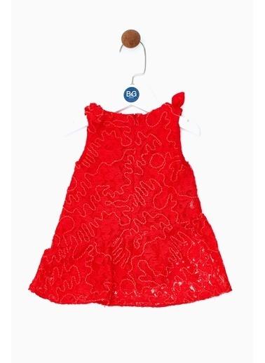 BG Baby Kız Bebek Kırmızı Elbise 19SS0BG2909 Kırmızı